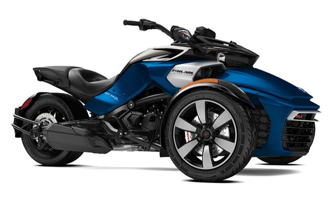 Can-Am Spyder F3-S SE6 MY18 bleu