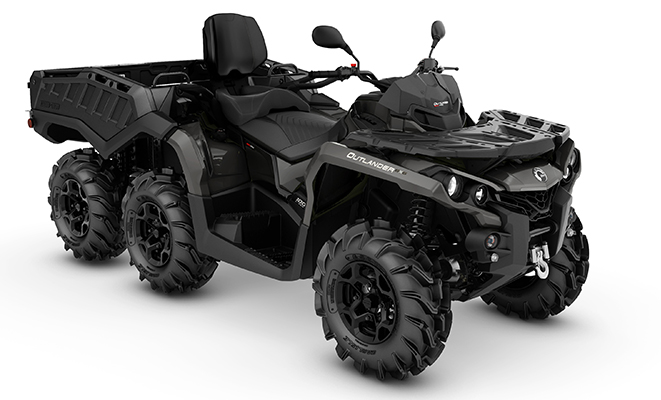 canam outlander 6x6 1000 max pro+ side wall