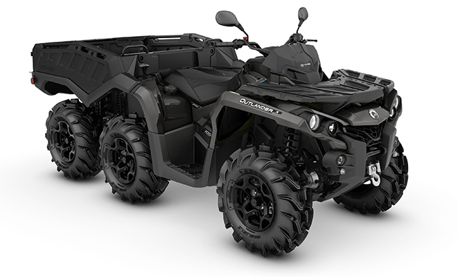 canam outlander 6x6 1000 pro+ side wall
