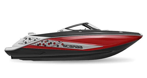 Scarab 195ID Impulse Crimson-Red Impact