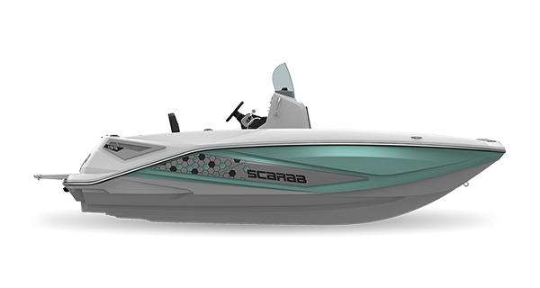 Scarab 195 Open ID SeafoamGreen Impact