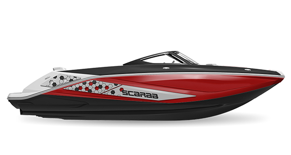 Scarab 215ID Impulse Crimson-Red Impact