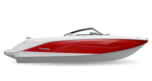 Scarab 255ID Crimson-Red
