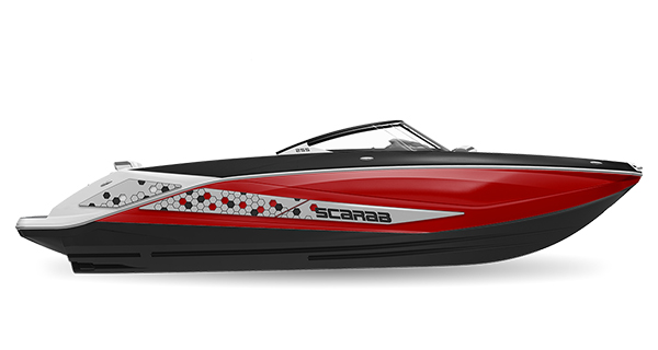 Scarab 255ID Impulse Crimson Red Impact