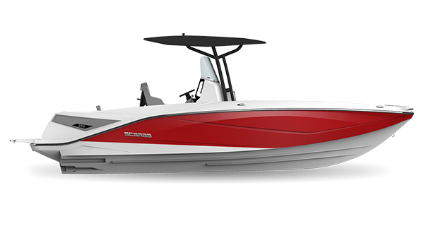 Scarab 255 Open ID Crimson-Red