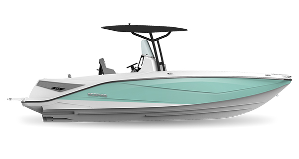 Scarab 255 Open ID SeafoamGreen
