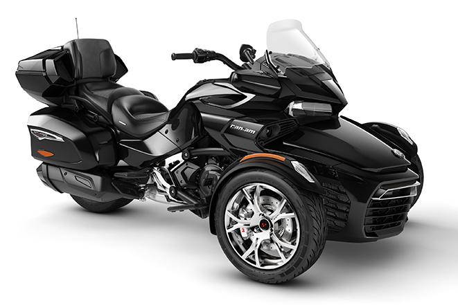 2020 Spyder F3 Limited Chrome Steel-Black-Metallic