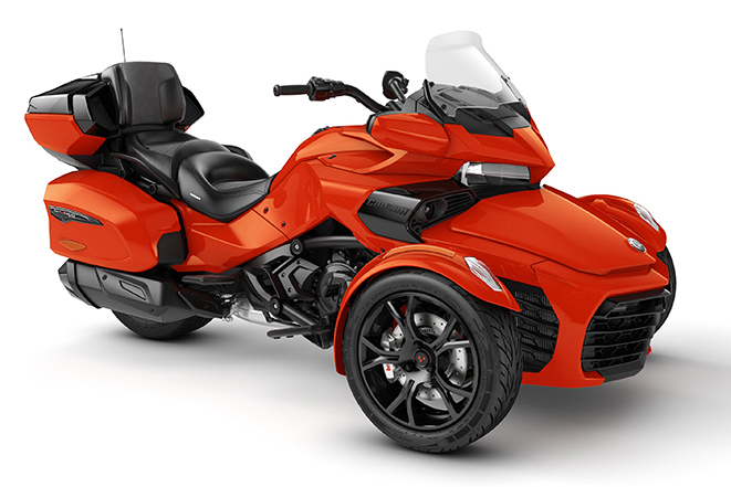 2020 Spyder F3 Limited Magma-Red