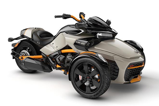 2020 Spyder F3-S Liquid-Titanium