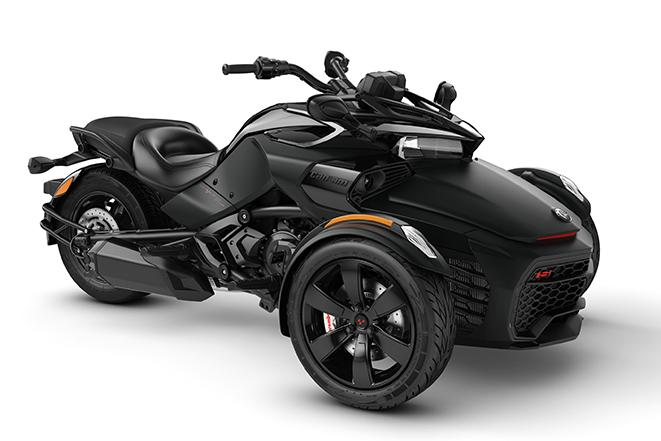 2020 Spyder F3-S Monolith-Black-Satin