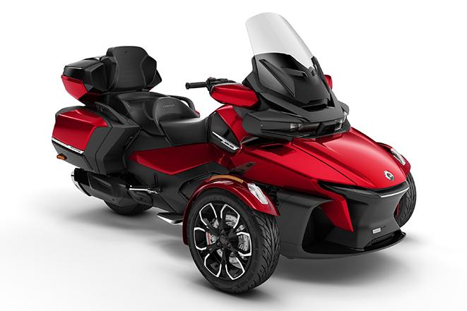 2020 Spyder RT-Limited Chrome Deep Marsala -Red
