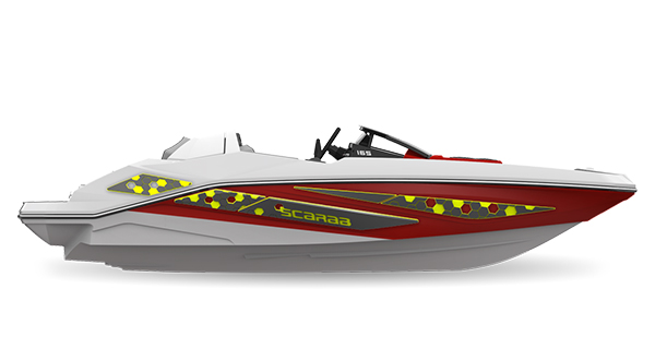 Scarab165ID Crimson-Red Atomic Impact