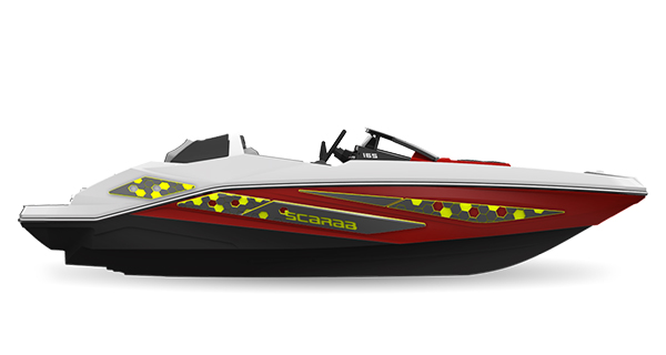 Scarab165ID Impulse Crimson-Red Atomic Impact