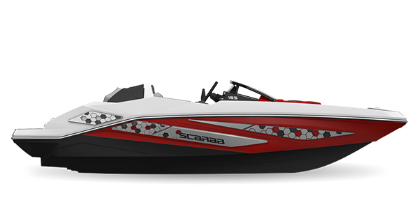 Scarab165ID Impulse Crimson-Red Impact