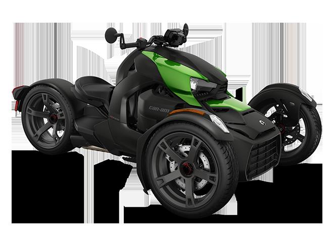 Can-Am Ryker Sonic Green