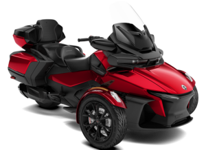 photo de studio Can-Am Spyder RT LTD MY21